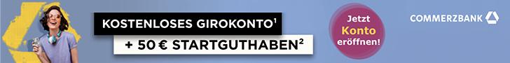 Kostenlose Konten: Commerzbank Girokonto