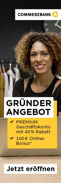 Commerzbank Geschaeftskonto Gruender