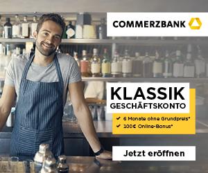 Commerzbank Geschaeftskonto Klassik